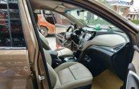 Cần bán xe Hyundai Santa Fe 2.2L đời 2017, màu nâu, số tự động giá 1 tỷ 90 tr tại Hà Nội
