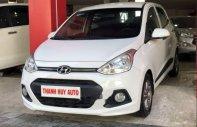 Bán Hyundai Grand i10 sản xuất 2014, màu trắng, nhập khẩu   giá 345 triệu tại Đà Nẵng