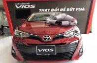 Cần bán Toyota Vios 1.5G năm sản xuất 2018, màu đỏ, giá 606tr giá 606 triệu tại Tiền Giang