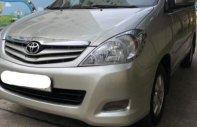 Cần bán gấp Toyota Innova G đời 2010, màu bạc, xe gia đình giá 378 triệu tại Tp.HCM