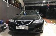 Bán xe Mazda 6 đời 2003, màu đen, xe nhập, xe gia đình giá 240 triệu tại Bình Định