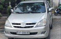 Bán Toyota Innova G năm sản xuất 2007, màu bạc giá 356 triệu tại Tp.HCM