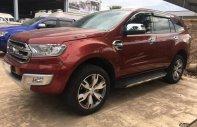 Cần bán xe Ford Everest 2.2 L AT Titanium sản xuất năm 2016, màu đỏ, xe nhập giá 1 tỷ 130 tr tại Tp.HCM