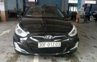 Bán xe Hyundai Accent SX 2013, màu đen, nhập khẩu giá 385 triệu tại Bắc Giang