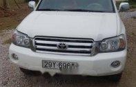 Bán xe Toyota Highlander đời 2005, màu trắng, 350 triệu giá 350 triệu tại Thanh Hóa