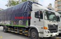 Bán xe tải thùng mui bạt Hino 500 Series FG8JPSU năm 2018, màu trắng giá 1 tỷ 240 tr tại Hà Nội