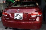 Bán Lexus GS 300 năm sản xuất 2005, màu đỏ, xe nhập  giá 680 triệu tại Bình Thuận