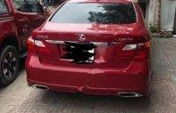 Bán Lexus LS 460L 2007, màu đỏ, xe nhập xe gia đình giá 1 tỷ 130 tr tại Tp.HCM