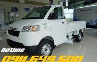 Bán xe tải Suzuki Pro thùng lửng, xe tải Suzuki thùng bạt. Xe tải Suzuki trả góp, xe tải trả góp giá 302 triệu tại Kiên Giang