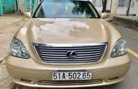 Bán Lexus LS 430 đời 2005, màu vàng, nhập khẩu giá 720 triệu tại Đồng Nai