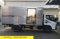 Bán xe tải Mitsu 1T9 thùng bạt 2018, xe tải Fuso Canter 4.99 thùng kín giá 597 triệu tại Tp.HCM