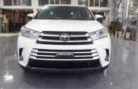 Bán Toyota Highlander LE đời 2017, màu trắng, nhập Mỹ giá 2 tỷ 400 tr tại Hà Nội