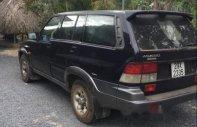Cần bán lại xe Ssangyong Musso đời 2000, màu đen, máy dầu 2 cầu điện giá 118 triệu tại Tp.HCM