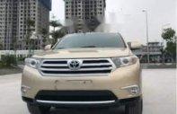 Bán Toyota Highlander SE 2.7 2011, màu vàng số tự động giá 1 tỷ 256 tr tại Hà Nội