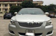 Cần bán xe Toyota Camry 2.4G đời 2007, màu bạc   giá 475 triệu tại Hà Nội