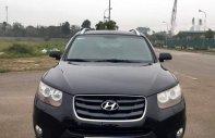 Cần bán Hyundai Santa Fe SLX đời 2009, màu đen, nhập khẩu nguyên chiếc giá cạnh tranh giá 660 triệu tại Hà Nội