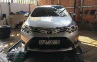 Cần bán lại xe Toyota Vios G đời 2015, màu bạc giá 465 triệu tại Long An