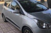Bán Hyundai Grand i10 1.2AT sản xuất năm 2015, màu bạc, xe nhập   giá 375 triệu tại Nghệ An