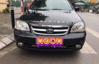 Cần bán lại xe Chevrolet Lacetti năm sản xuất 2007, màu đen giá 172 triệu tại Hà Nội