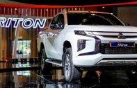 Bán xe Mitsubishi Triton sản xuất 2019, màu trắng, nhập khẩu giá 730 triệu tại Đà Nẵng