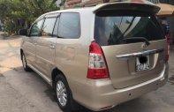 Cần bán xe Toyota Innova đời 2013, màu vàng cát, nội thất zin theo xe giá 475 triệu tại Tp.HCM