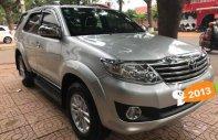 Cần bán xe Toyota Fortuner 2.7V đời 2013, màu bạc giá 666 triệu tại Hà Nội