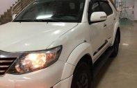 Bán Toyota Fortuner V Sportivo 4x2 AT màu trắng, số tự động, máy xăng sản xuất năm 2014 giá 799 triệu tại Hà Nội