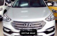 Cần bán xe Hyundai Santa Fe năm sản xuất 2017, màu trắng giá 1 tỷ 89 tr tại Hà Nội