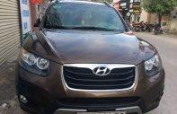 Bán ô tô Hyundai Santa Fe SLX 2.0AT đời 2012, màu nâu, nhập khẩu nguyên chiếc như mới giá 680 triệu tại Hà Nội