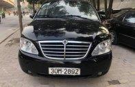 Bán Ssangyong Stavic đời 2008, màu đen, xe nhập giá 236 triệu tại Hà Nội