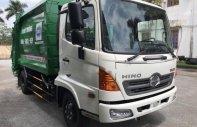 Bán ô tô chở rác_cuốn ép rác 9 khối Hino thùng inox 430 giá 1 tỷ 360 tr tại Tp.HCM