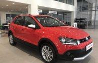 Cần bán xe Volkswagen cross Polo đời 2018, màu đỏ, giá tốt giá 725 triệu tại Tp.HCM