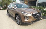 Cần bán xe Hyundai SantaFe cao cấp, máy dầu, phiên bản 2019, màu nâu hỗ trợ trả góp 80% giá 1 tỷ 245 tr tại Hà Nội