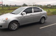 Bán Hyundai Verna đời 2008, màu bạc, nhập khẩu như mới giá 162 triệu tại Hà Nội
