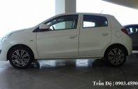 Bán xe Mitsubishi Mirage sản xuất 2018, màu trắng, xe nhập  giá 350 triệu tại Tp.HCM