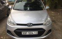 Bán Hyundai Grand i10 năm 2015, màu bạc, nhập khẩu chính chủ giá 238 triệu tại Nam Định