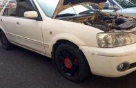 Cần bán Ford Laser Ghia BVRFFH1 sản xuất 2003, màu trắng, xe gia đình đang sử dụng giá 188 triệu tại Lâm Đồng