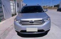 Cần bán xe Toyota Highlander AT model 2012, màu bạc, nhập Mỹ giá 1 tỷ 80 tr tại Tp.HCM