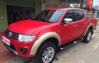 Bán Mitsubishi Triton đời 2014, màu đỏ, nhập khẩu nguyên chiếc số sàn giá 400 triệu tại Nghệ An