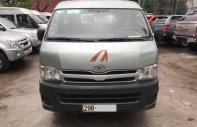 Bán toyota Hiace đời 2011 máy dầu 16 chỗ, xe 1 chủ công ty từ đầu, máy nguyên giá 390 triệu tại Hà Nội
