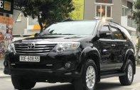 Cần bán Toyota Fortuner năm 2012, màu đen giá 660 triệu tại Hà Nội
