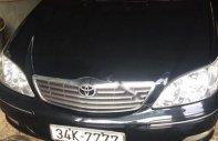Bán Toyota Camry 2.4G 2003, màu đen như mới giá 340 triệu tại Hà Nội