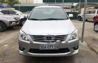 Bán Toyota Innova AT sản xuất năm 2012, màu bạc chính chủ giá 530 triệu tại Hà Nội