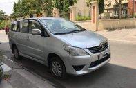 Cần bán gấp Toyota Innova đời 2012, màu bạc chính chủ, giá 415tr giá 415 triệu tại Tp.HCM