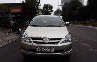Cần bán gấp Toyota Innova G  MT 2008, màu bạc  giá 355 triệu tại Hà Nội