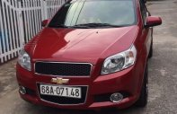 Cần bán Chevrolet Aveo AT đời 2017, màu đỏ, giá 350tr giá 350 triệu tại Tp.HCM