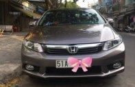 Cần bán lại xe Honda Civic 1.8AT năm sản xuất 2012, màu nâu, giá tốt giá 490 triệu tại Tp.HCM