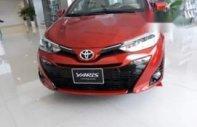 Bán ô tô Toyota Yaris sản xuất 2019, màu đỏ, nhập khẩu nguyên chiếc giá 635 triệu tại Tp.HCM