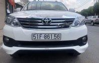 Bán Toyota Fortuner sản xuất năm 2014, màu trắng xe gia đình giá 795 triệu tại Tp.HCM