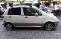 Bán Daewoo Matiz SE 0.8 MT sản xuất 2005, màu trắng, xe nhập xe gia đình giá 130 triệu tại Tp.HCM
